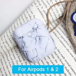Accessories - NEW Marble Pattern Case for Apple Airpods 1 & 2